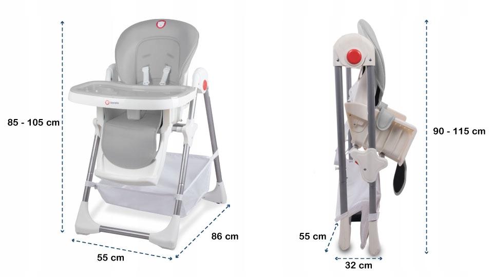 d909b7e47a7 Οι ειδικά επισημασμένες κλειδαριές διευκολύνουν τους γονείς να προσαρμόζουν  το ύψος της καρέκλας. Τοποθετημένες σωστά, αποτρέπουντυχαία πτώση της  καρέκλας.
